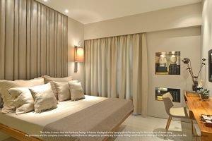 2bhk Flat bedroom2